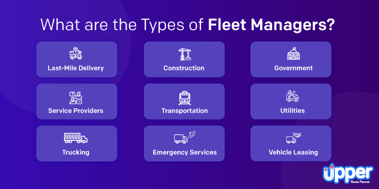Types of Fleet Manager