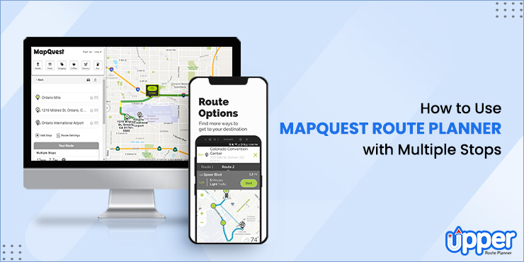 Mapquest Route Planner with Multiple Stops