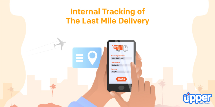 Internal Tracking of the Last Mile Delivery