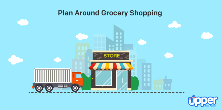 Plan Around Grocery Shopping