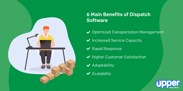 6 Benefits of Dispatch Software