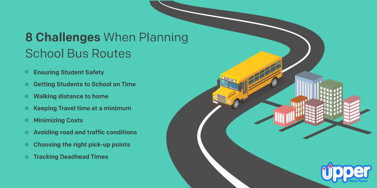 8 Challenges When Planning School Bus Routes
