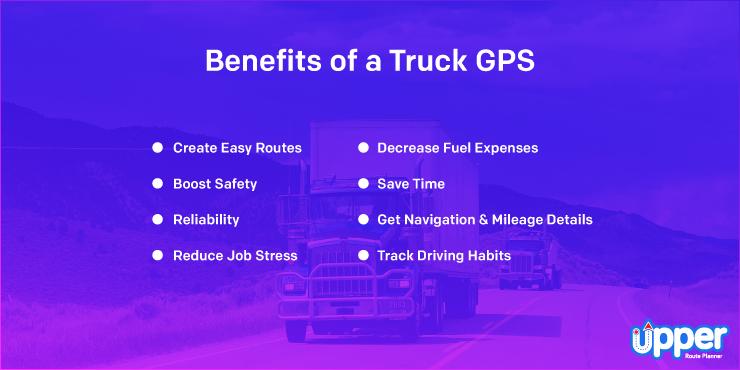 Benefits of Truck GPS