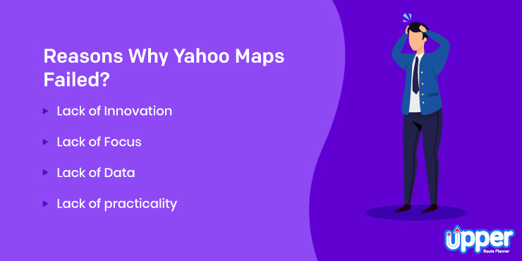 Reasons Why Yahoo Maps Failed