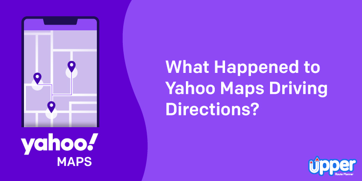 What Happened to Yahoo Maps Driving Directions