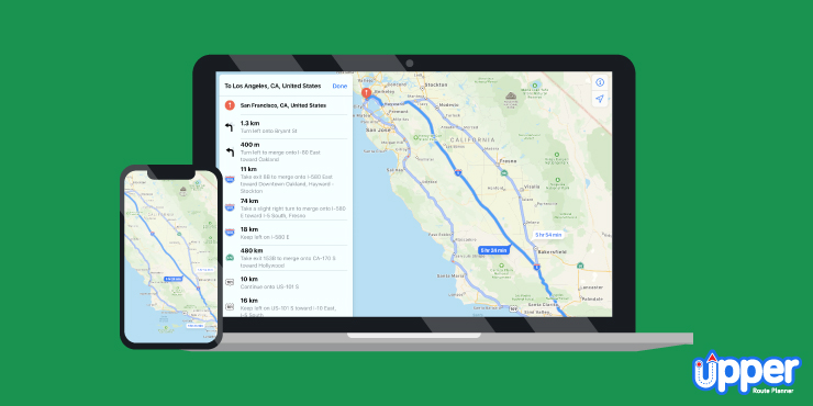 Apple Maps for Route Planner