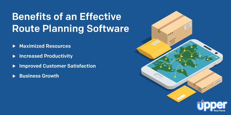 Benefits of an Effective Route Planning Software