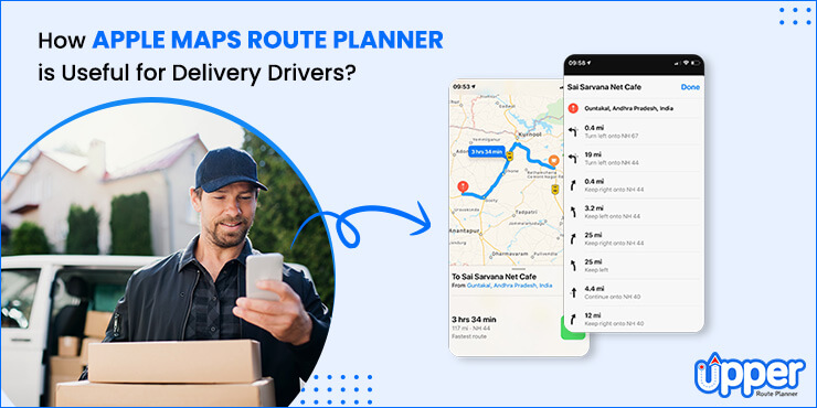 Apple Maps Route Planner