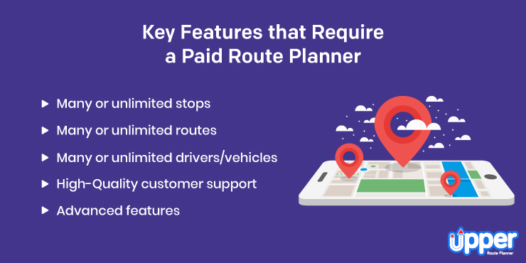 Key Features That Require a Paid Route Planner