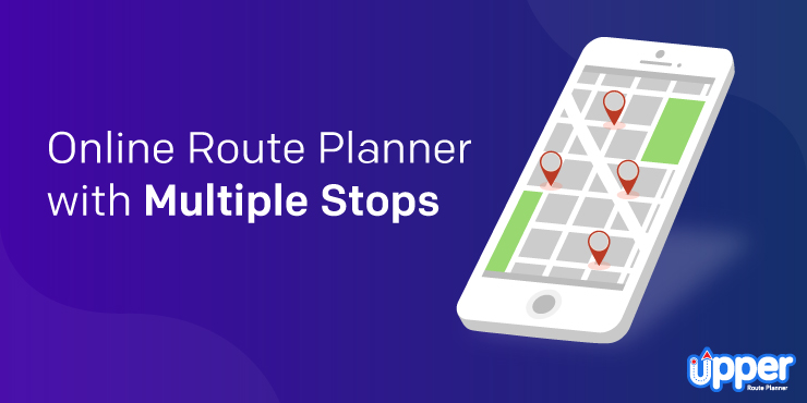 Online Route Planner with Multiple Stops