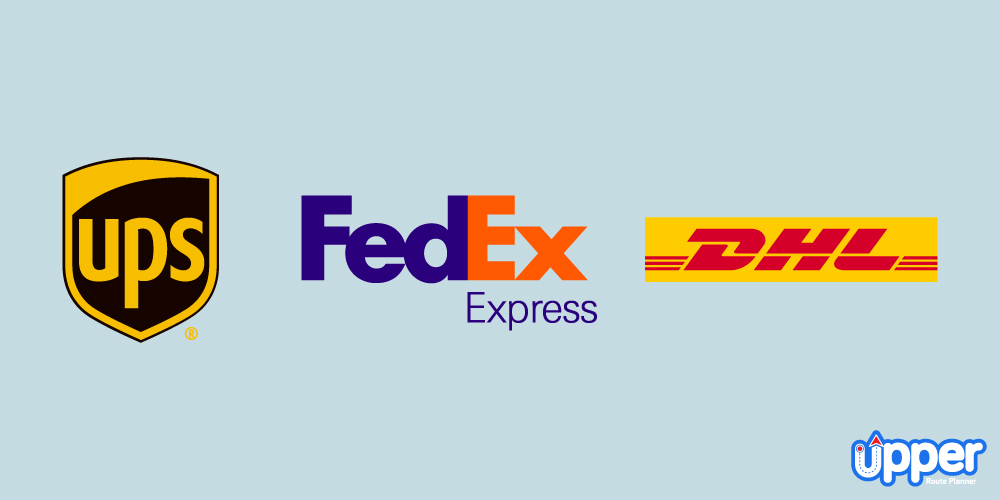 Big Players - UPS, Fedex, DHL