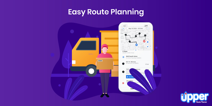 Easy Route Planning - Upper Route Planner