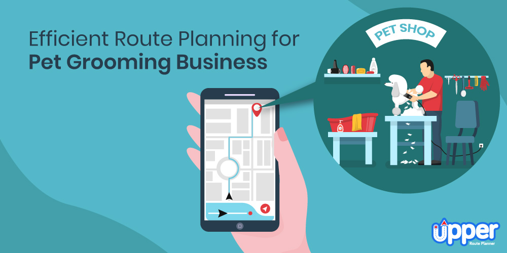 Efficient Route Planning for a Pet Grooming Business