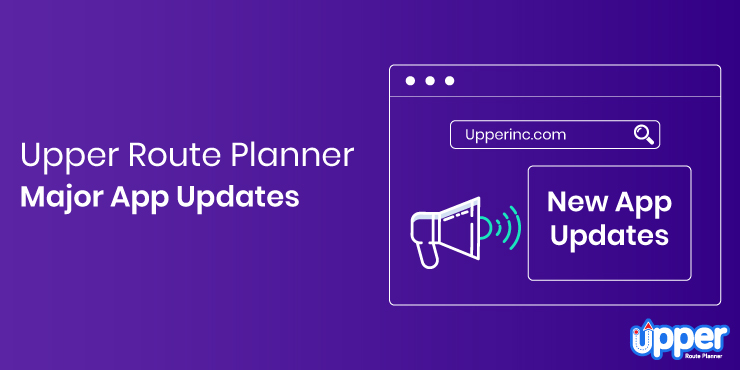 Major App Updates - Upper Route Planner