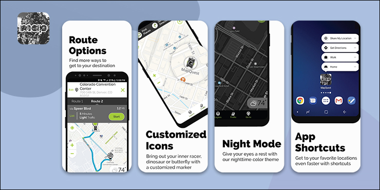 Mapquest Delivery Route Planner App