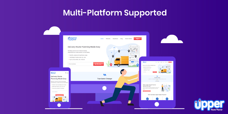 Multi-platform Supported - Upper Route Planner