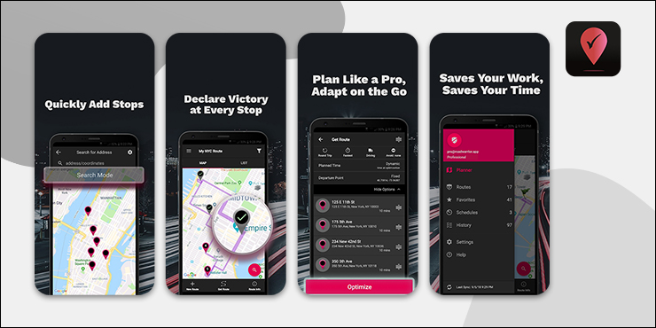 RoadWarrior Delivery Route Planner App