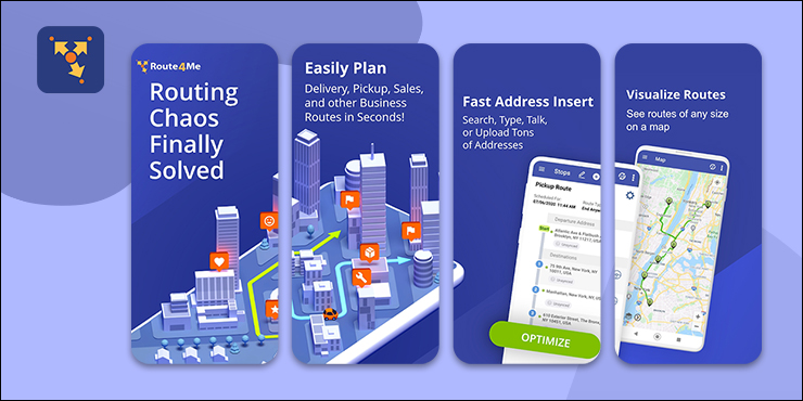 Route4Me Best Delivery Route Planner App