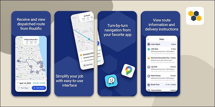 Routific Route Planner App