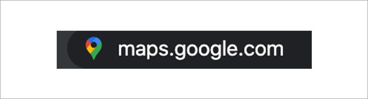 Open Google Map Website