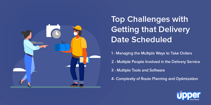 Top Challenges With Getting That Delivery Date Scheduled