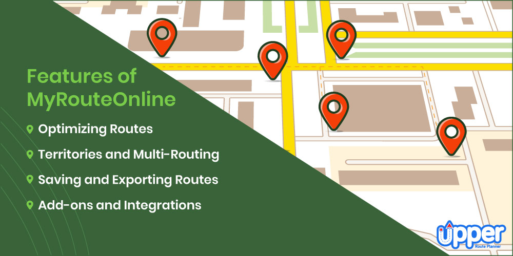 Features of MyRouteOnline