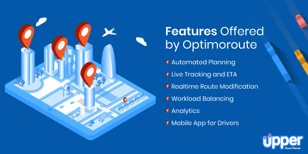 Features Offered by Optimoroute