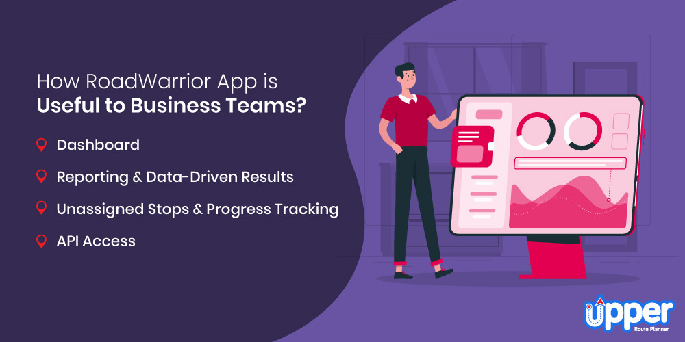How RoadWarrior App is Useful to Business Teams?