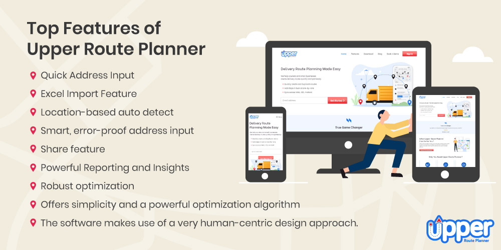 Top Feature of Upper Route Planner