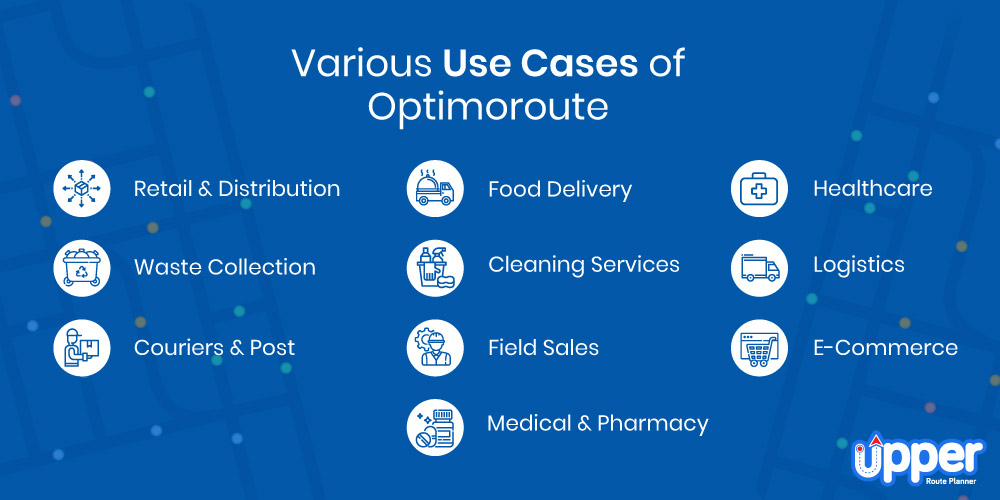Use Cases of Optimoroute