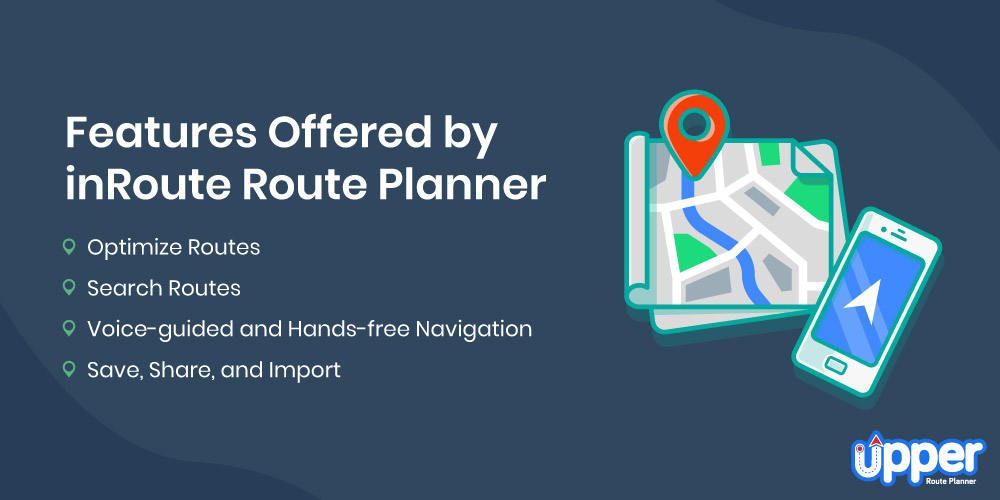 Features Offered by InRoute Route Planner