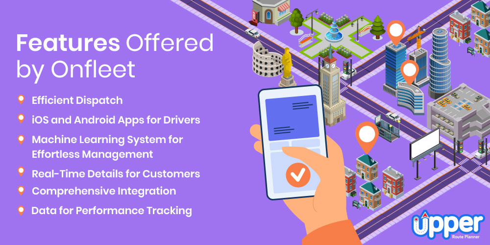 Features Offered by Onfleet