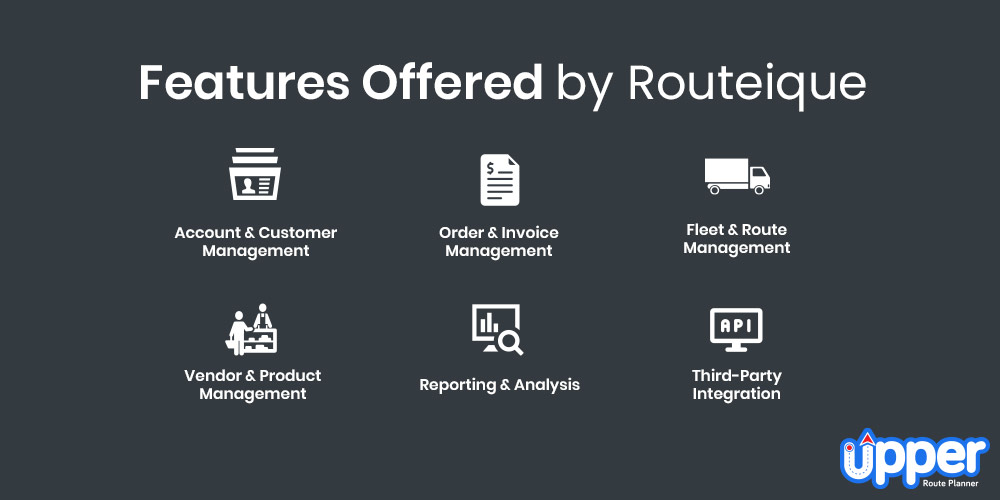 Features Offered by Routeique
