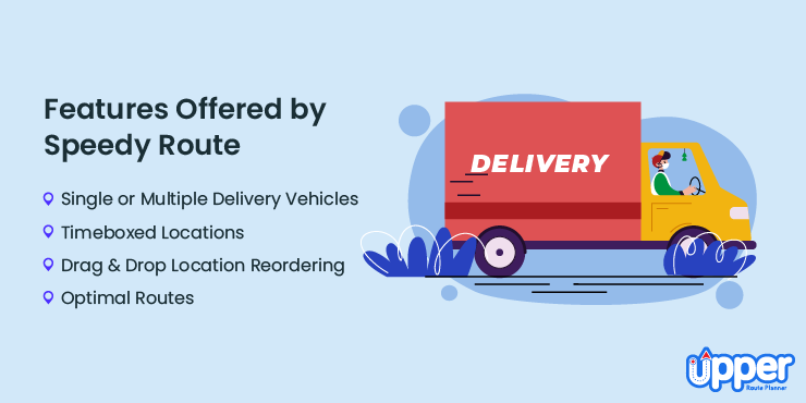Features Offered by Speedyroute