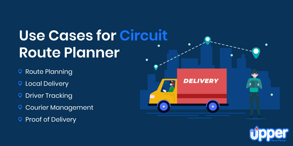 Use Cases for Circuit Route Planner