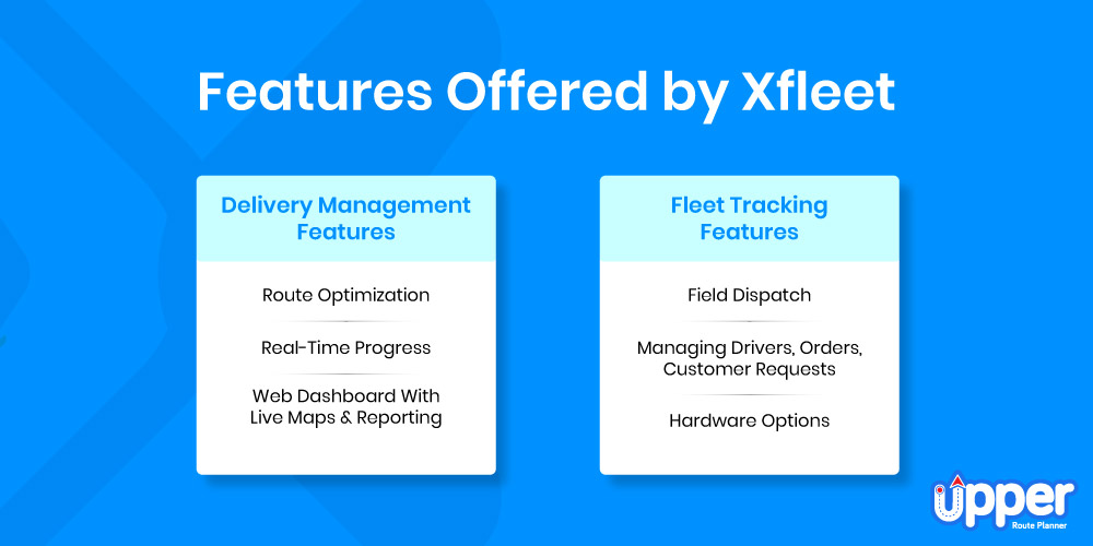 Features Offered by Xfleet