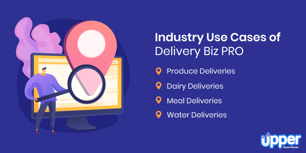 Industry Use Cases of Delivery Biz PRO