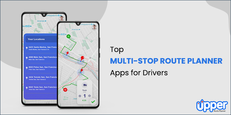 Multi Stop Route Planner Apps