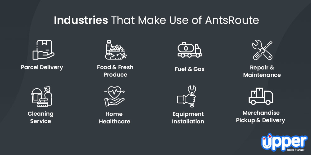 Industries That Make Use of AntsRoute