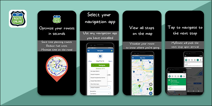 MyRoute Fastest Route With Multiple Stops