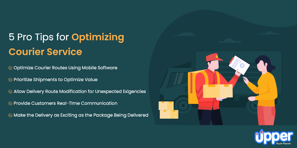5 Pro Tips for Optimizing Courier Service