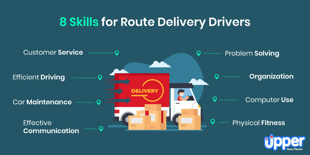 8 Skills for Route Delivery Drivers