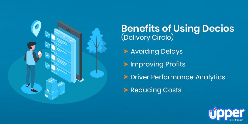 Benefits of Using Decios Delivery Circle