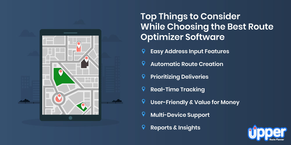 Top Things to Consider While Choosing the Best Route Optimizer Software
