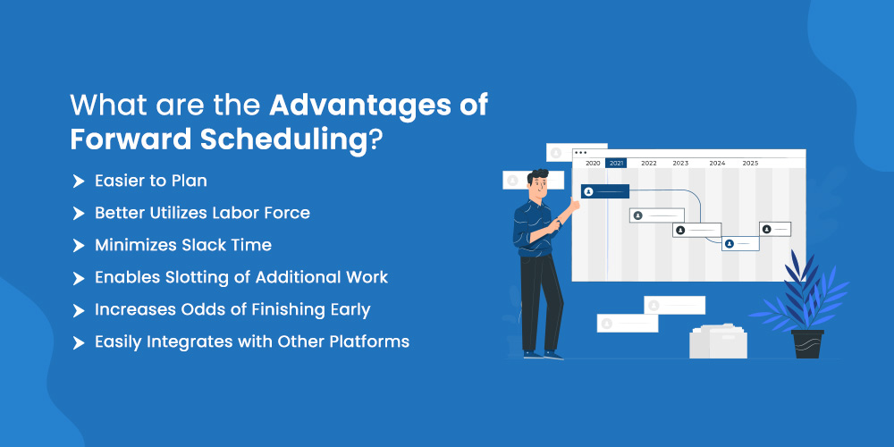 What are The Advantages of Forward Scheduling?