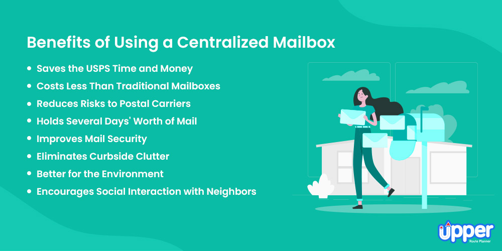 Benefits of Using a Centralized Mailbox