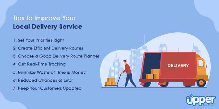 Tips to Improve Your Local Delivery Service