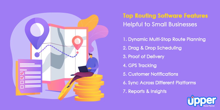 Top Routing Software Features helpful to Small Businesses