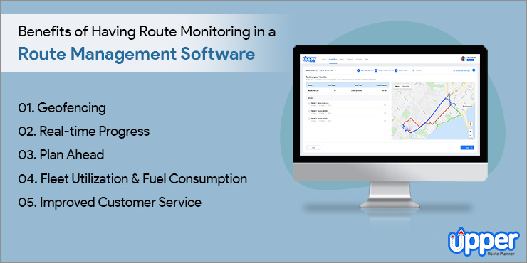 Benefits of Having Route Monitoring in a Route Management Software