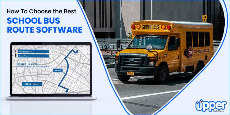 school bus route software